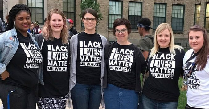 Milwaukee students participate in 'walk-in.'