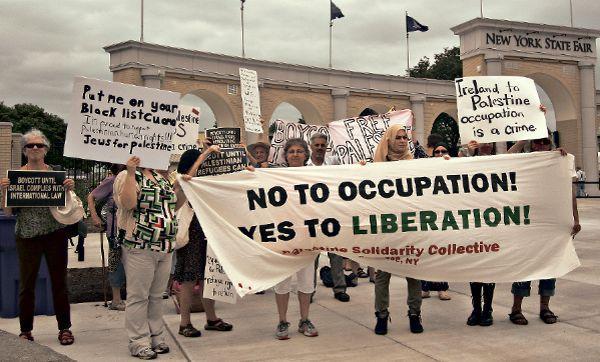 PalestineSolidarityNYStateFair2