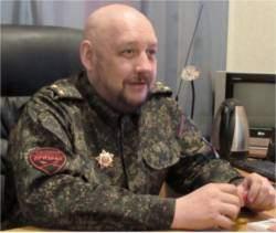 Ghost Brigade Commander Commander Pyotr Biryukov