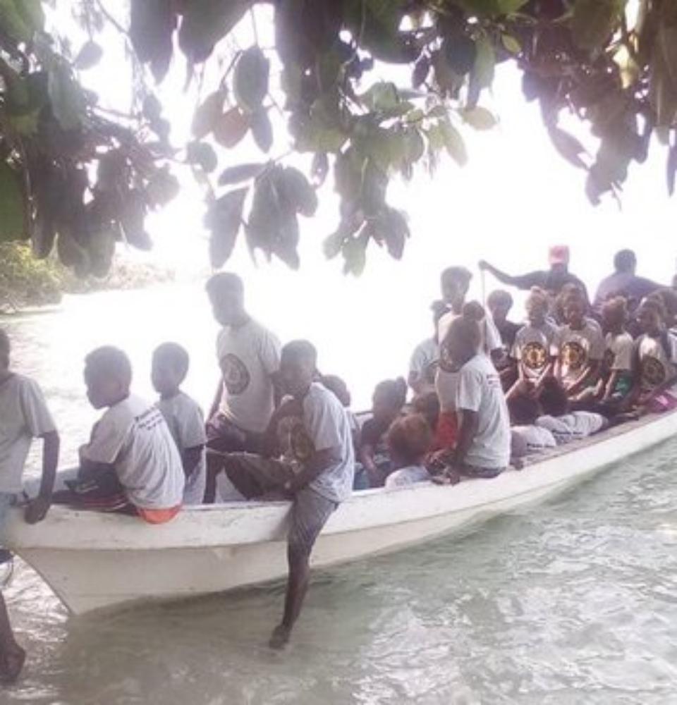 Solomon Islands in Pacific