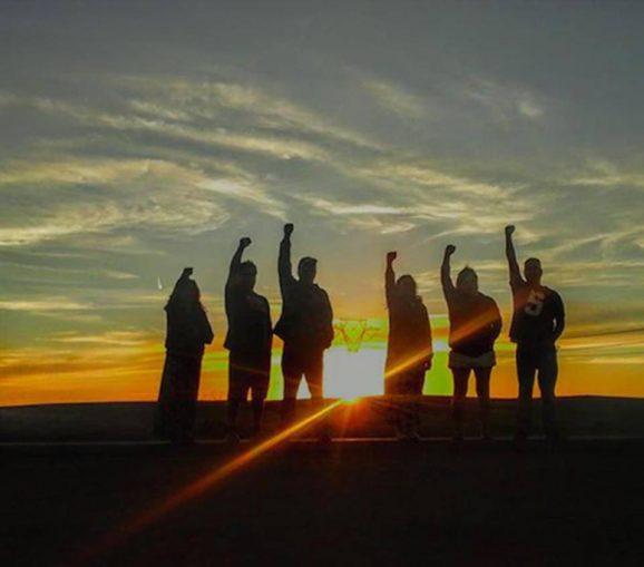 Water warriors, Standing Rock.