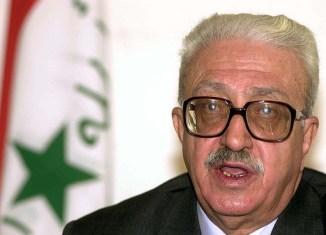 Tariq Aziz, former deputy prime minister of Iraq - Workers World