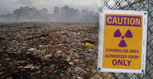 Westlake landfill in the town of Bridgeton, Mo.