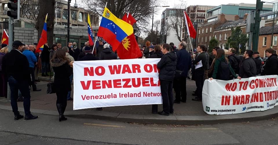 Venez-demos-Dublin-Ireland-Ven-Ireland-network