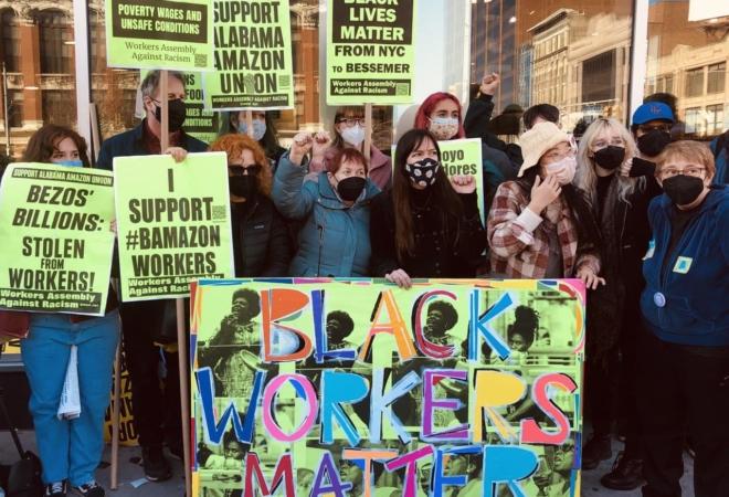 WAAR activists