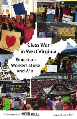 Book Cover: Class War in W.Va.: Education Workers Strike, Win
