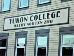 In Dawson, where this college is located, local schools teach the Hän language to both First Nation and Canadian students.