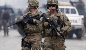 U.S. occupation force in Afghanistan.