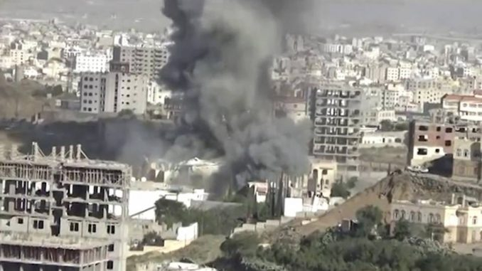Bombing of funeral hall in Yemen.