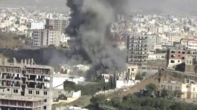 Bombing of funeral hall in Yemen.