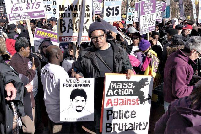 justice for Jeffrey Pendleton.Photos: Howard Rotman
