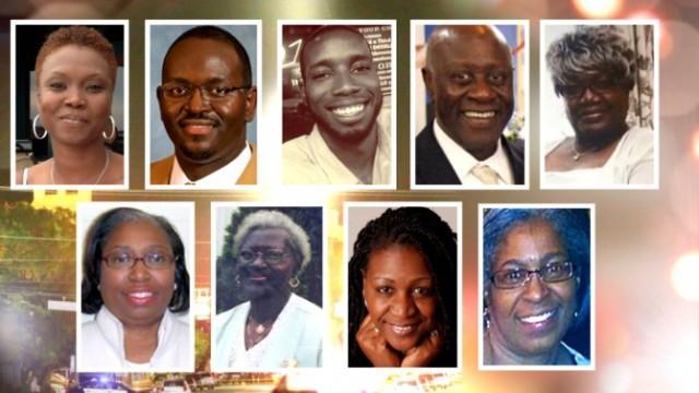 Charleston 9 victims.