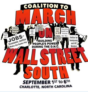 March on Wall Street South