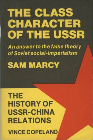 The Class Character of the USSR