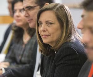 Cuban negotiator Josefina Vidal.