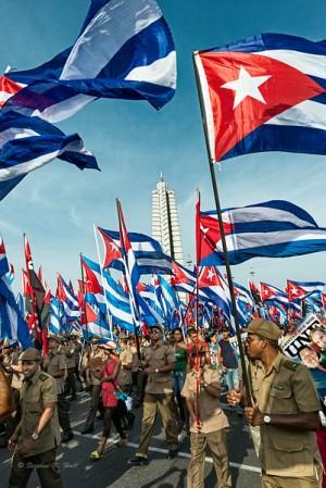 Havana, Cuba, May Day 2014.
