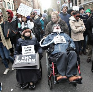 Dec. 13, 2014 march against police violence, NYC.
