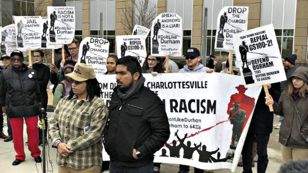 Eyewitness Durham: Felony charges dropped against freedom fighters