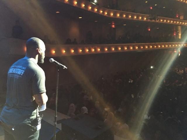Filmmaker Ryan Coogler opens #JusticeforFlint Feb. 28.Photo: Blackout Team Photos