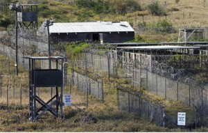The U.S. prison camp in Guantánamo.