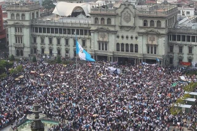 National strike in Guatemala.