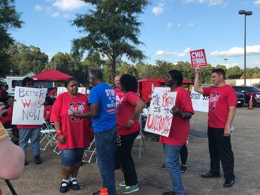 On the picket line – Workers World