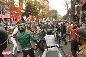West Bengal police attack SUCI activists