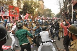 West Bengal police attack SUCI activists