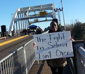 Kim King, a Lear Selma auto worker.Photo: Selma Workers Organizing Committee