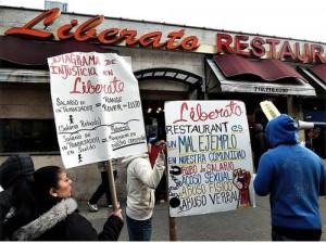 Liberato protest.WW photo: Anne Pruden