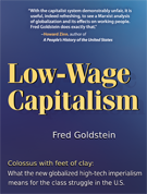 Book Cover: Low-Wage Capitalism: Colossus with Feet of Clay