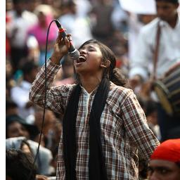 Lucky Akter, General Secretary of Bangladesh Students union.