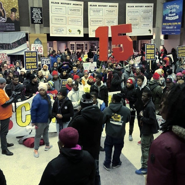 Milwaukee. Photo:  Youth Empowered in the Struggle - UWM