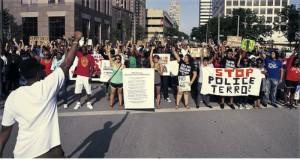Milwaukee protest in August 2014.Photo: Joe Brusky photography