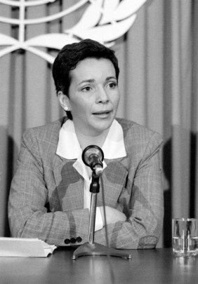 Nora Astorga, revolutionary ambassador to the U.N.