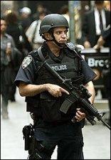 NYC cop on Wall Street.