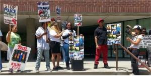 Mario Romero supporters rally.WW photo: Terri Kay