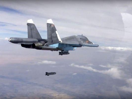 A Russian Su-34 jet.Photo: militarytimes.com