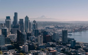 Seattle is 54 miles northwest of Mount Rainier and the fault line called the Cascadia subduction zone.