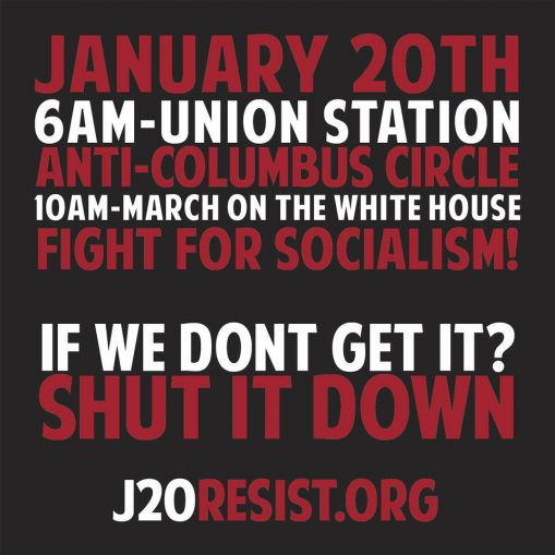 #J20 mass protests planned: FIGHT TRUMP! – Workers World