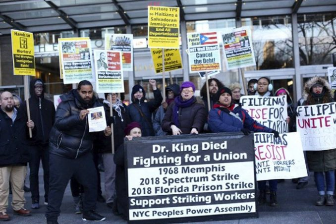 Rally supports Spectrum workers – Workers World
