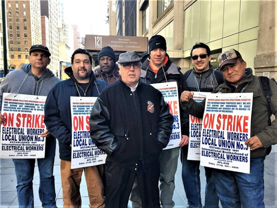 On The Picket Line Workers World