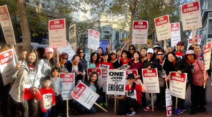 Hotel workers strike in 10 cities – Workers World