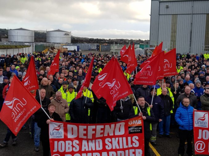 Belfast workers fight layoffs, climate change – Workers World