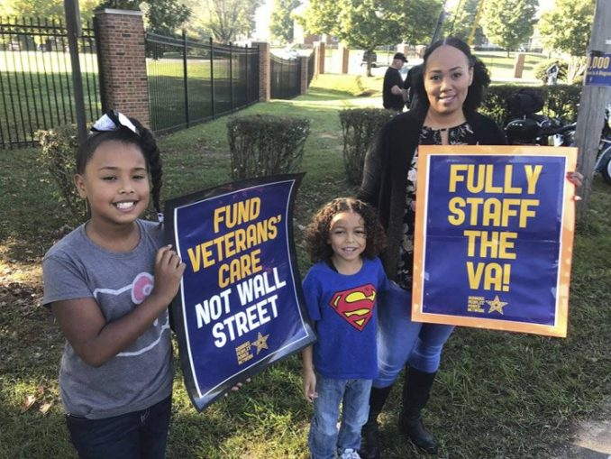 Veterans Administration workers demand: 'Fill the job